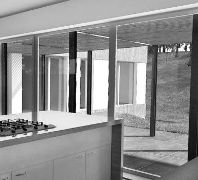 studie a realizace – rodinný dům Kunratice – projekt interiéru 2015