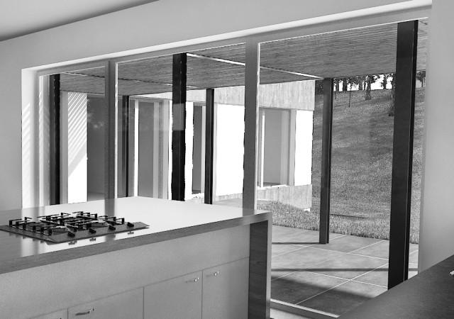 Studie rodinný dům Kunratice – projekt interiéru 2015